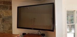 Samsung large screen TV & Bose home theater system, 59x35 lengthxheight for Sale in Rockville, MD