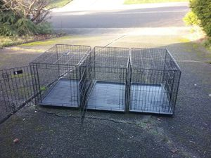 """Large Medium Dog Kennel Crate 2 Door like Brand New 36"""" L by 22"""" W 24"""" for Sale in Federal Way, WA"""