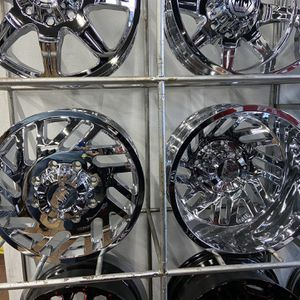dually wheels and tires call us we finance for Sale in Houston, TX