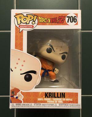 $10 Funko Pop! Animation: Dragonball Z - Krillin with Destructo Disc for Sale in Las Vegas, NV