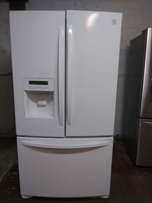 Kenmore french doors refrigerator 90 days warranty. for Sale in Reading, PA