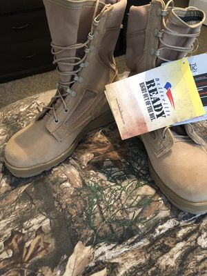 Fire resistant combat boots for Sale in Clarksville, TN