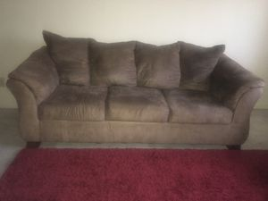 Brown microfiber Couch and loveseat for Sale in Lexington, KY