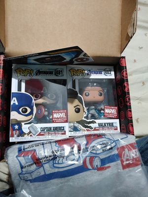 Marvel collectors corp's pop funko box need to sell today for Sale in Wilsonville, OR