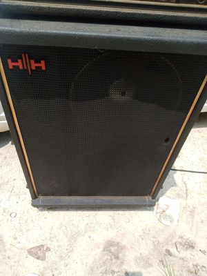 Amplifier speaker & guitar for Sale in Youngsville, NC