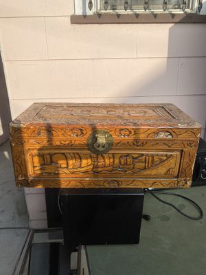 Antique wooden box for Sale in Los Angeles, CA