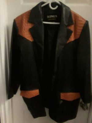 Croacadil leather jacket for Sale in Santa Ana, CA