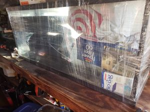 Top fin 55 gallon tank and accessories with under tank bio ball filter for Sale in San Pedro, CA