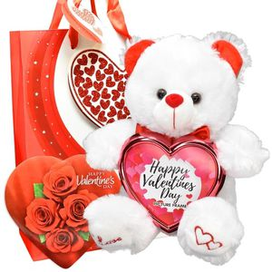 Valentines Day Picture Frame Teddy Bear Chocolate Gift Bag for Sale in Redlands, CA