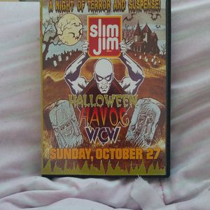 Wcw Halloween havoc 1996/w Preshow for Sale in Chicago, IL