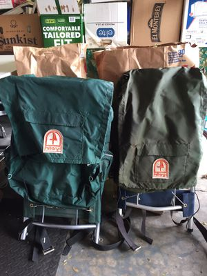 Hillary hiking backpacks for Sale in Wheaton, IL