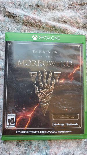Elder Scrolls Morrowind for Sale in Fountain, CO