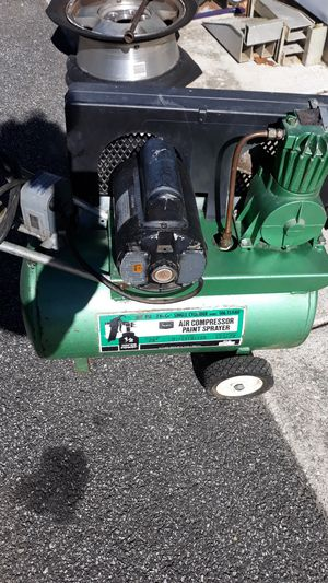 Sears Air Compressor 100psi for Sale in Baltimore, MD