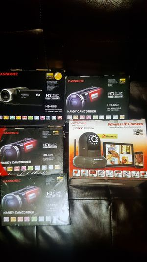 Brand new video camera make me a offer all for Sale in Sierra Madre, CA