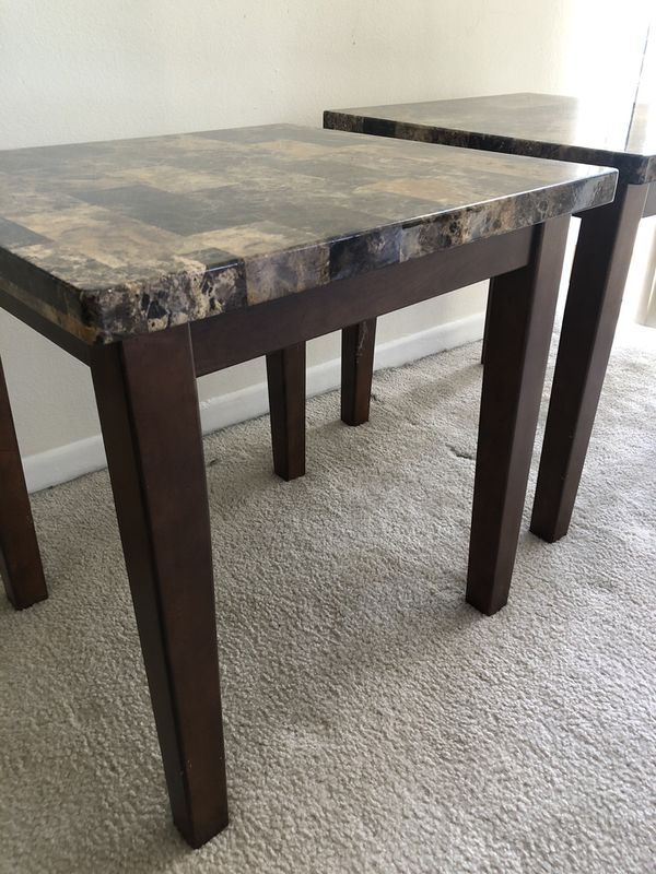 Gently used coffee table set