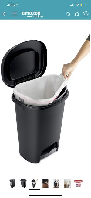 Trash Can for Home, Kitchen, and Bathroom Garbage for Sale in Sunrise, FL