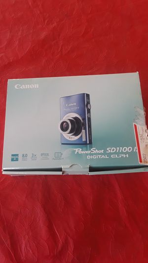 Canon Power Shot SD 1100 IS Digital ELPH Camera for Sale in Laveen Village, AZ