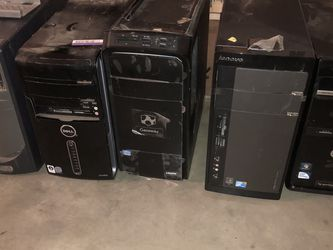 5 Barebone Computer Desktops for Sale in Riverside,  CA
