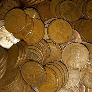 100 Wheat pennies 1909 Through 1958 for Sale in Las Vegas, NV