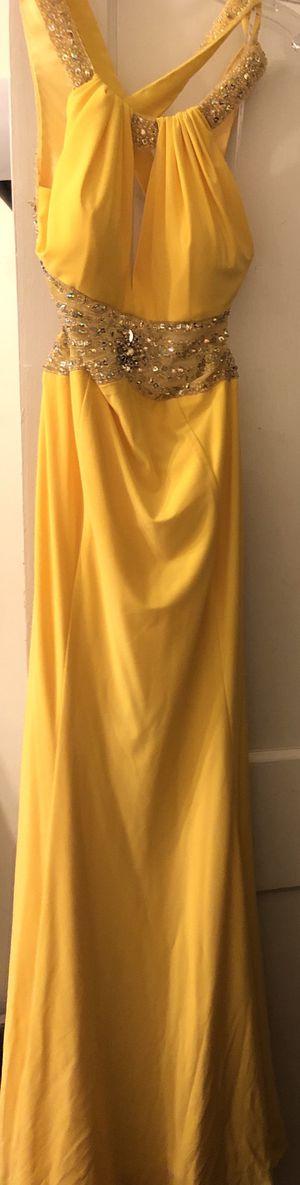 Camille_La_Vie Yellow Prom Dress for Sale in Kirklyn, PA