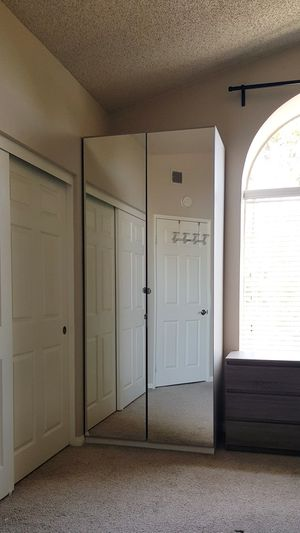 Closet/Wardrobe with mirror doors for Sale in Laguna Niguel, CA