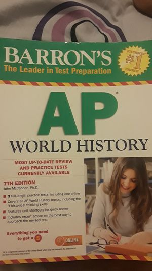 Ap world history book for Sale in Buffalo, NY