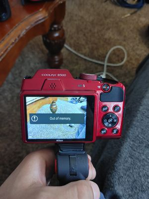 Nikon camera coolpix B500 for sale or trade for Sale in San Antonio, TX
