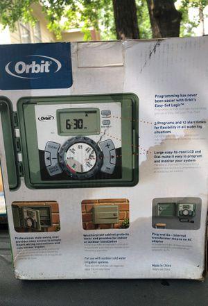 Orbit sprinkler timer for Sale in Humble, TX