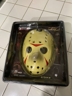 Friday the 13th part 3 neca mask for Sale in Fontana, CA