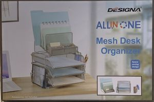 Designa All In One Mesh Desk Organizer for Sale in Missouri City, TX