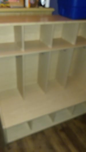 Four-Section coat locker with bench for Sale in New York, NY