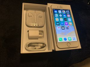 Iphone 6s 64gb Factory Unlocked att Tmobile GSM worldwide MINT condition /w box and accessories for Sale in Doral, FL