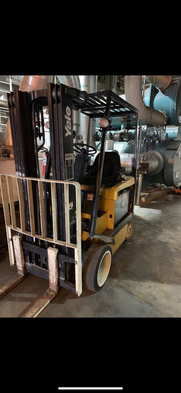 Yale Electric forklift for sale, (BEST OFFER)