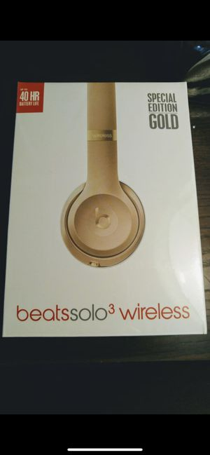 Sealed Beats Solo 3 Wireless Headphones for Sale in Milpitas, CA