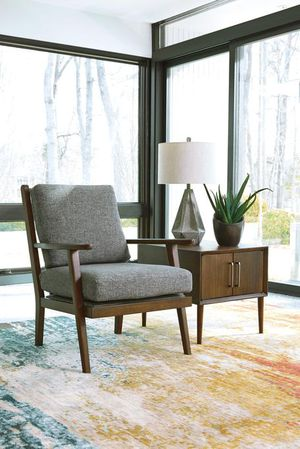 💥3-6 Day's Delivery 💥Zardoni Charcoal Accent Chair by Ashley for Sale in Jessup, MD