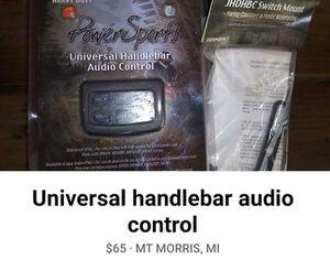 Universal handle bar audio control set. for Sale in Mount Morris, MI