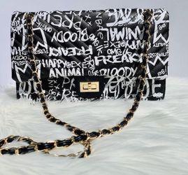 Graffiti Shoulder Bag- Large for Sale in Chicago,  IL