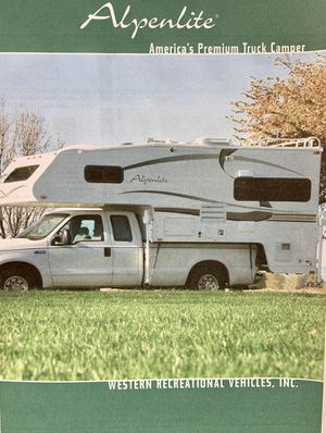 1998 Alpenlite Camper for Sale in Marysville, WA