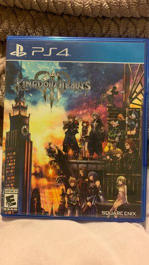 Kingdom hearts 3 PS4 for Sale in La Mesa, CA