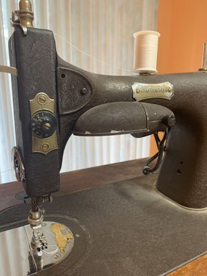 Antique Domestic Rotary Sewing Machine Table for Sale in Portland, OR