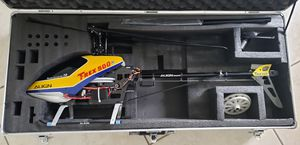 Align Trex 500 with case helicopter for Sale in Miami Springs, FL