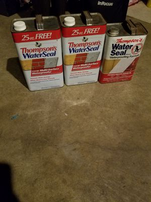 Water seal for Sale in Evansdale, IA