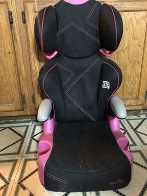 Evenflo booster car seat free for Sale in Brooklyn, NY