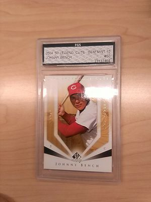 Johnny Bench Graded Baseball Card for Sale in Kissimmee, FL