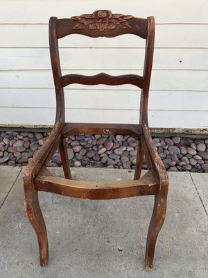 Antique chair frame for Sale in Los Angeles, CA