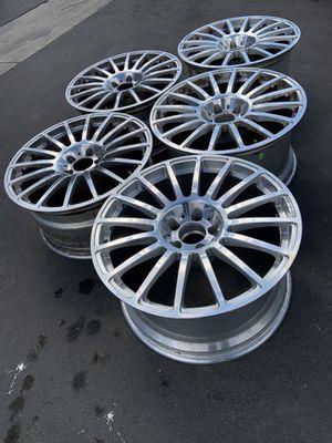 Mercedes Benz clk63 amg black series wheels (5 rims total) for Sale in Los Angeles, CA