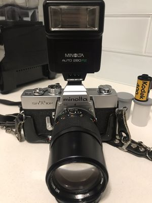 Minolta SRT-102 35mm Film Camera with 2 Rolls Kodak 400 Film for Sale in Chicago, IL