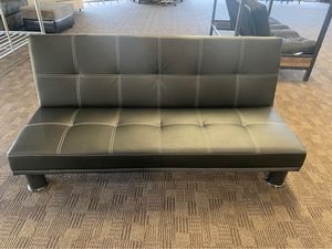 Leather Futon New -- Full Size Bed for Sale in Gilbert, AZ