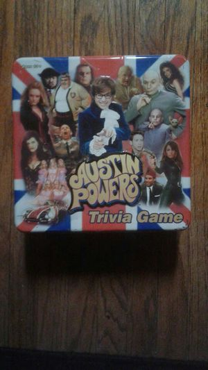 Austin Powers Themed Trivia Game for Sale in Terre Haute, IN