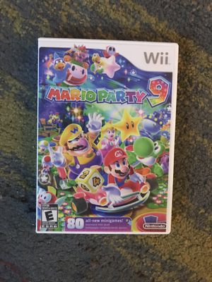 Mario party 9 wii for Sale in Lodi, CA